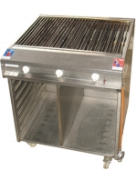 Gas-Chromstahlrost Grill exkl. GAS